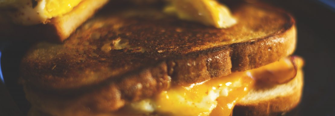 Grilled Cheese Melt Tasty Breakfast London Cheap Eats