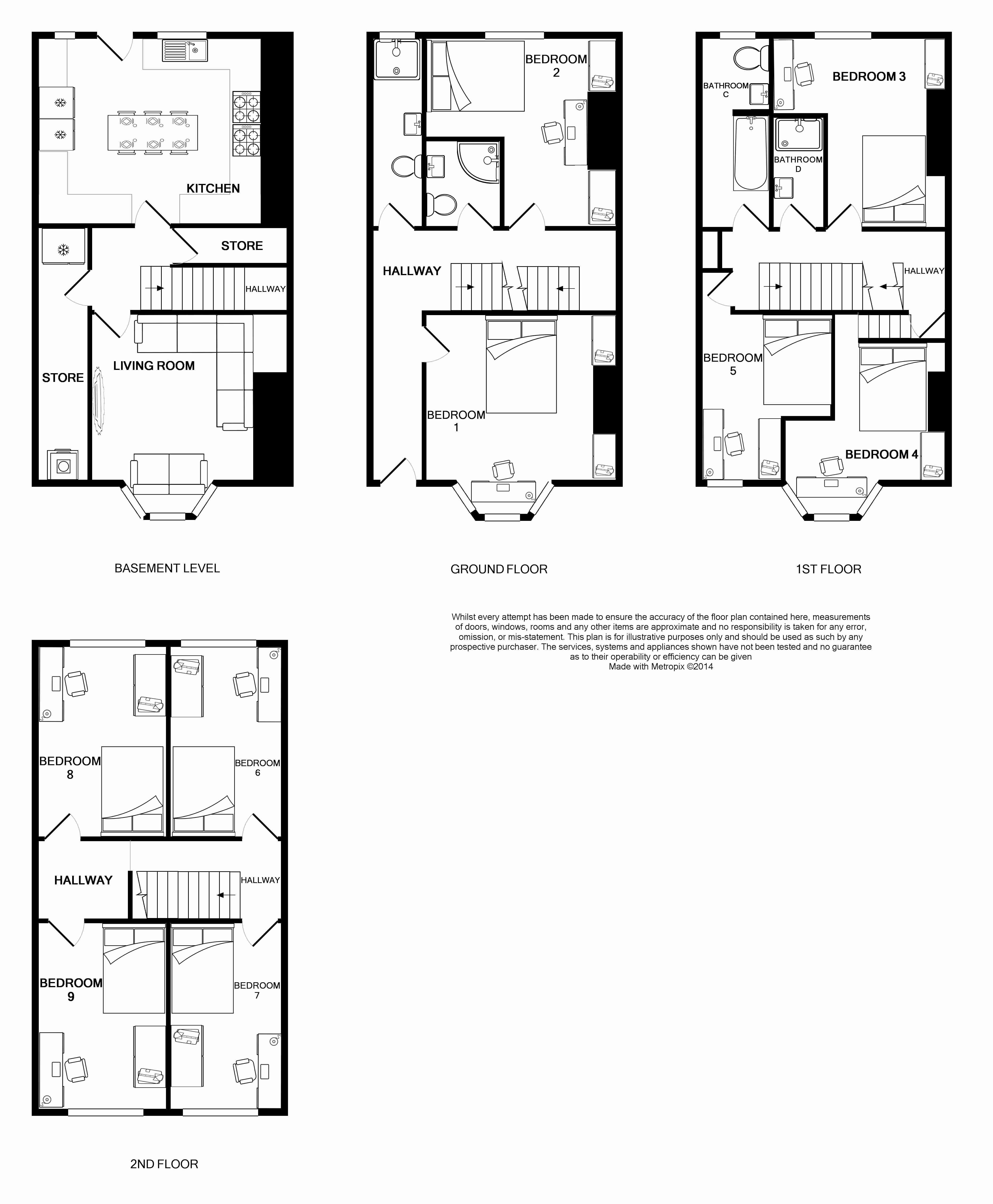 131 Hyde Park Road Floorplan