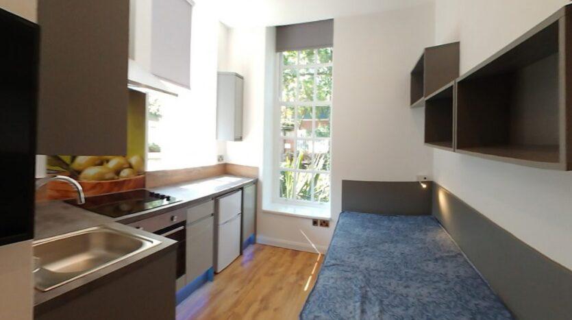 Studio 7, A City View, kitchen