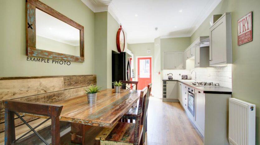 Flat 3 Shiners Yard, 123 Jesmond Road, kitchen