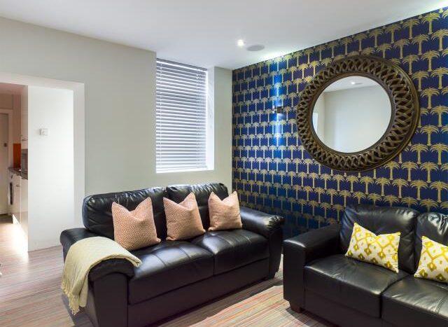 21 Queen Anne Street living room